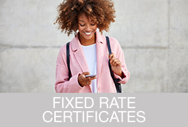 Fixed Rate Certificate