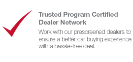 Trusted Program Certified Dealer Network Icon